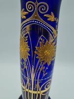 Antique Bohemian Glass Vase (8 of 9)