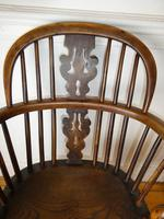 Early 19th Century Yew Windsor Chair (4 of 8)