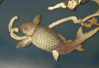Rare Sibayama Plaque Japanese Meiji (5 of 8)