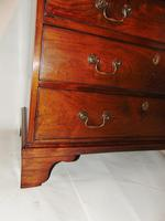 Small George III Cuban Mahogany Chest of Drawers (7 of 8)
