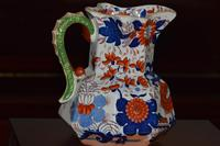 Large & Heavy 19th Century Masons Ironstone Hydra Jug or Pitcher (10 of 12)
