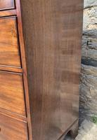 Large Regency Mahogany Bow Front Chest of Drawers (15 of 19)