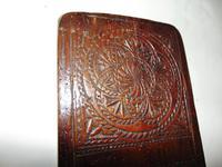 Carved Fruitwood Freizland Mangelplack, Dated 1720 (7 of 7)