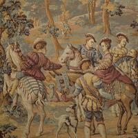 Antique Verdure Tapestry, French, Decorative Panel, Wall Covering, Victorian (9 of 12)