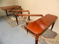 Large Regency Mahogany Concertina Action Dining Table (4 of 9)