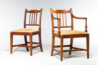 Set of Eight George III Period Dining Chairs 'Six Side Chairs plus Two Armchairs' (5 of 9)