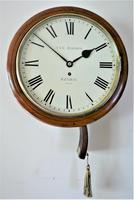 """Fabulous 12"""" English Fusee Dial Timepiece by Thomas & Edmund Rhodes 1868 (2 of 9)"""