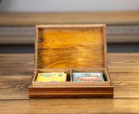 Olive Wood Inlaid Card Box 1920 (7 of 8)