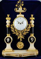Louis XVI French Fusee Mantle Clock - Fine 18th Century Clock