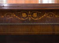 Victorian Walnut & Marquetry Inlaid Side Cabinet (5 of 6)