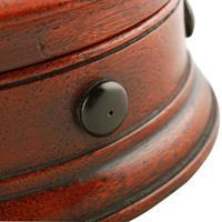 Circular Mahogany Bobbin Caddy (7 of 8)