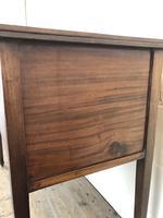 Antique Edwardian Inlaid Mahogany Side Table (10 of 11)