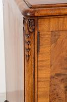 Stunning Walnut 3 Door Side Cabinet (5 of 9)