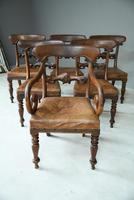 6 William IV Walnut Dining Chairs (3 of 9)