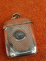 Antique Sterling Silver Hallmarked Vesta Case (7 of 12)