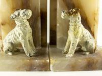 Pair of Art Deco Fox Terrier Bookends (4 of 8)
