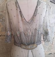 Vintage 1920's beadwork dress, Art Deco (17 of 20)