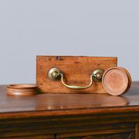 Victorian Mahogany & Brass Pill Maker (9 of 9)