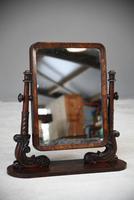 Antique Mahogany Toilet Swing Mirror (7 of 11)
