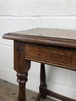 Antique Oak Joint Stool (4 of 11)