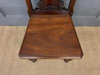 Good Pair of Victorian Walnut Hall Chairs (8 of 13)