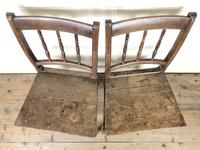 Pair of 19th Century Oak Farmhouse Chairs (3 of 12)