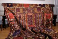 Large Mid 20th Century Colourful Flat Weave Woolen Rug (3 of 15)