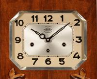 Westminster Girod Carillon Walnut, Rosewood Wall Clock French c.1940 (2 of 8)