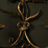 Florentine Pair of Toleware Twin Arm Wall Lights (3 of 10)