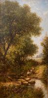Good Gilt Framed Oil on Canvas Painting by Henry Maidment (2 of 6)