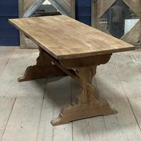 Smaller French Farmhouse Bleached Oak Dining Table (12 of 17)