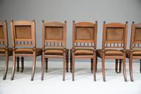6 Victorian Walnut Dining Chairs (10 of 11)