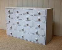 Early 20th Century Painted Collectors' Drawers (2 of 5)