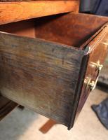 18th Century Antique English Georgian Oak Pad Foot Dresser & Rack (7 of 9)