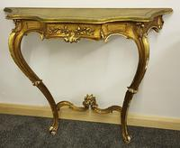 French gilt console table (4 of 4)