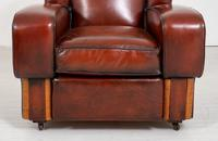 Good Pair of Art Deco Club Chairs (7 of 7)