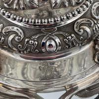 Mid 19th Century Antique Victorian Sterling Silver Suite Comports London 1862 Robert Garrard (7 of 12)