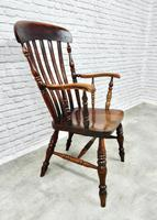 19th Century Lincolnshire Windsor Lathback Armchair (8 of 10)