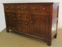 Georgian Oak Cupboard Dresser. North Wales c.1800