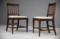 6 Georgian Mahogany Dining Chairs (11 of 12)