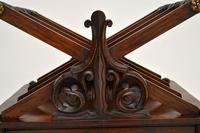 Antique Regency Rosewood Canterbury Magazine Stand (10 of 12)