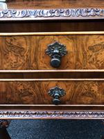Pair of Antique Burr Walnut Bedside Tables (3 of 12)