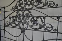 Super Victorian Brass & Iron King Size 5ft Bedstead (3 of 14)