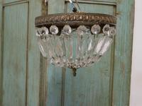 French Empire Style Crystal Basket Chandelier (17 of 19)
