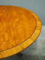 Victorian Mahogany Large Oval Breakfast Table (6 of 8)