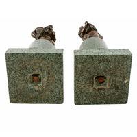 Pair of Bronze & Marble Figures (8 of 8)
