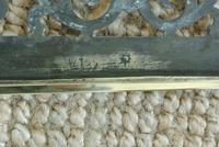 Fine Large Victorian 18inch Brass Trivet Footman William Tonks Brass (6 of 7)