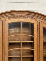 French 3 Door Oak Bookcase or Cabinet (7 of 15)