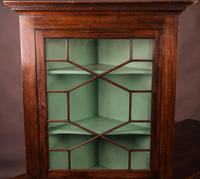 Georgian Mahogany Corner Cupboard Glazed (2 of 4)