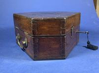 Victorian Brass Sextant In It's Original Mahogany Box. (7 of 18)